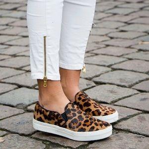 Sam Edelman Becker Calf-Hair Slip-On Sneaker