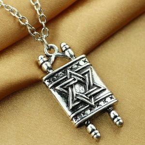 Torah Scroll pendant