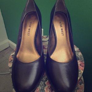 Nine West gently worn heels
