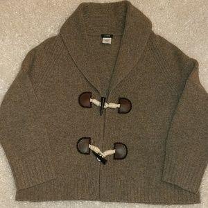 J Crew Cashmere Wool Sweater Cardigan Jacket