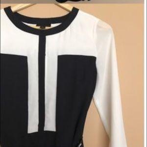Worthington Black and White Dress
