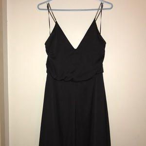H&M Full Length Black Dress