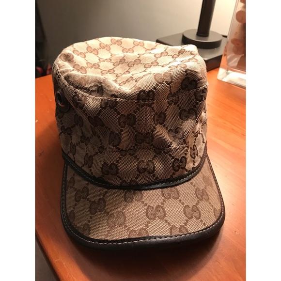 Gucci Other - Gucci Original GG Military Hat 128a05d0d