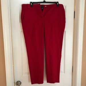 Women's Red Pant