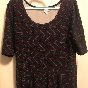 LuLaRoe Nicole Dress Size 3x