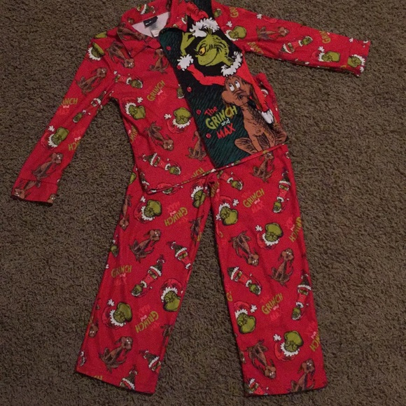 Grinch Pjs Kids