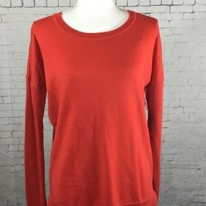 "Cynthia Rowley Red ""Cashfeel"" Sweater Sizes XS & M"