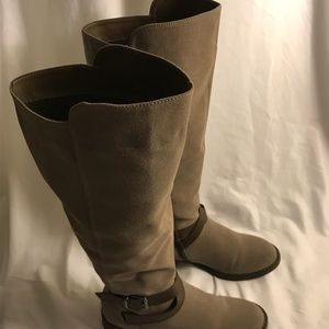 Taupe Thigh high boots
