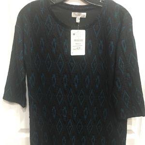 Zara Trafaluc Dress Medium Black Shift Dress