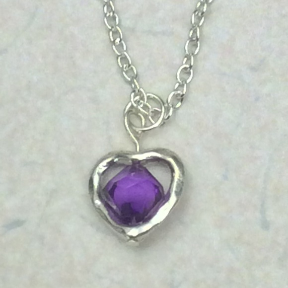 50 off just for fun jewelry silver plated heart with