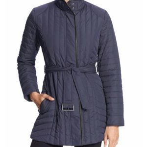 Banana Republic Quilted Navy Blue Jacket Small