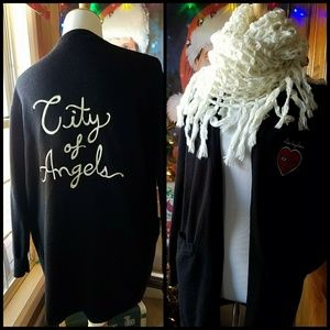 Forever 21 City of Angels Long Cardi