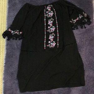 Black dress design dress