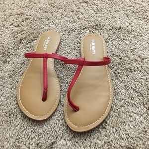 Sandals, NEVER USED, old navy
