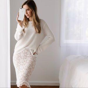 🆕Lafayette Lace Skirt