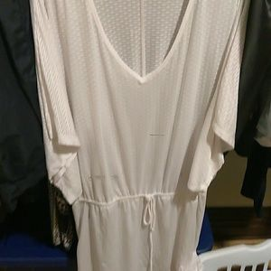 Very cute coverup for swim suit