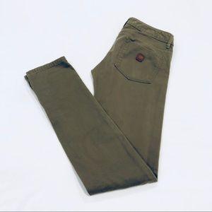 Roxy Olive Green Skinny Jeans