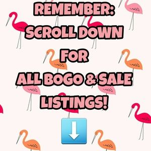 *SCROLL DOWN FOR ALL BOGO & SALE LISTINGS!*