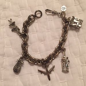 Lucky Brand Hawaii Theme Charm Bracelet