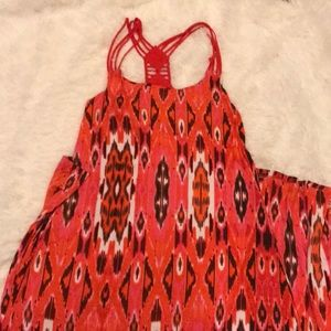 Maxi dress with built in bra