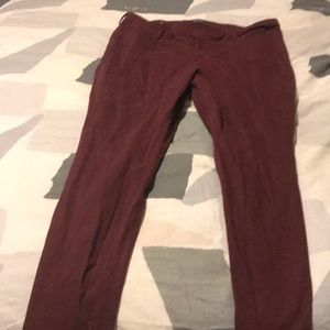 Old navy rockstar red denim skinny jeans