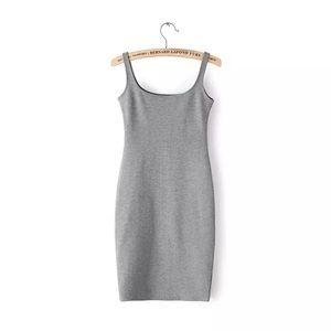 American Apparel Gray Tanl Dress
