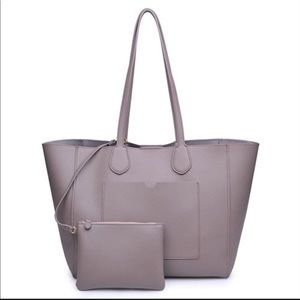 Handbags - Taupe Tote,Brand New W/Tags