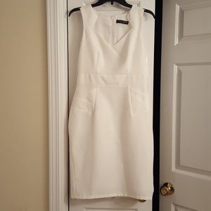 Fitted Ivory Dress