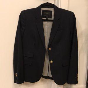 J.Crew navy schoolboy blazer