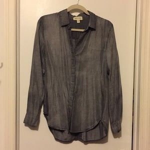Anthropologie, Cloth and Stone Chambray top