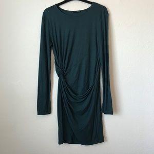Zara long Sleeve Body Con Dress