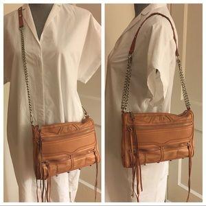 Large✨REBECCA MINKOFF✨Pink Crossbody/Shoulder Bag