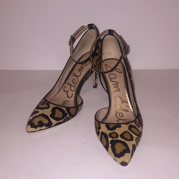 471648a141d3 Sam Edelman leopard print heels Tia