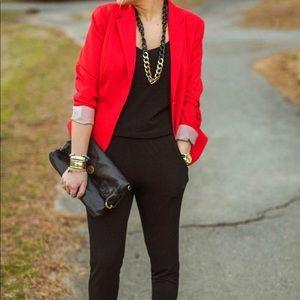 H&M Red blazer size 8