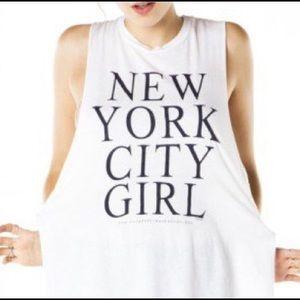 New York City Girl Muscle Tank