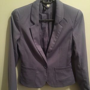 EUC Divided H&M Periwinkle/lilac blazer size 2
