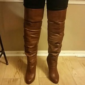 BCBGENERATION Pull on Over the knee boots