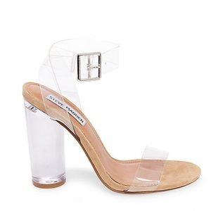 Steve Madden Clearer Strappy Heels