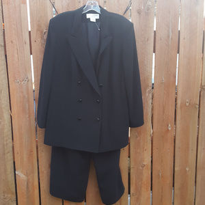 Jones New York Double Breasted Suit Set Size 18w
