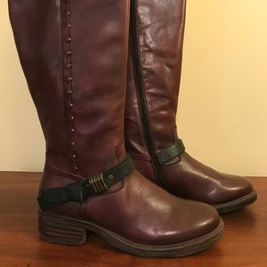 OTBT CACHE BOOTS - Red - Leather- NEW SZ 8.5