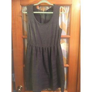Lane Bryant sweater dress w/back zipper