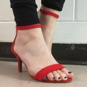 H&M Red Pumps (Never Worn)