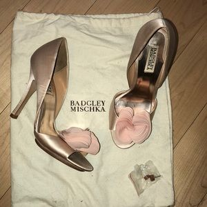 Badgley Mischka Randall D'Orsay heels