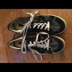 VANS unisex heart bones leather fabric 8 m sneaker