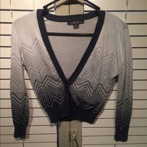 Chevron patterned cardigan from forever 21