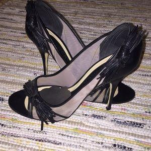 Gorgeous Givenchy Stilettos w/ leather bow detail