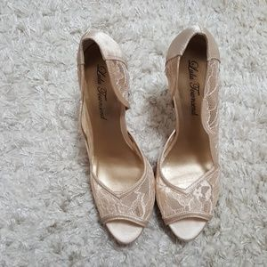 Lulu Townsend Off white wedding shoes