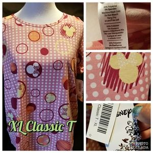 XL Classic T Minnie Mouse Bnwt