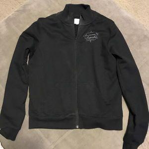 Black Banana Republic light cotton jacket.