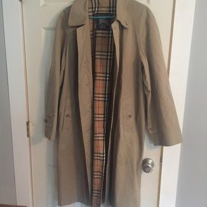 BURBERRY LONDON Nova Check Men's Trench Coat 46R